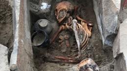 Петербургские археологи нашли древнюю мумию вТуве
