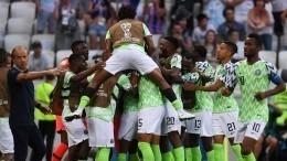Нигерийцы обыграли Исландию натридцатиградусной жаре вВолгограде
