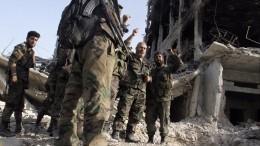 Насторону Асада перешла первая группировка Сирийской свободной армии
