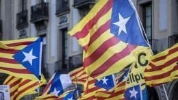 Власти Каталонии объявили оразрыве отношений сиспанским королевским двором