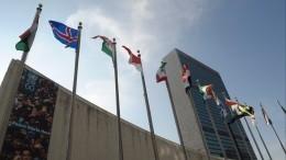 Генассамблея ООН: Российские войска должны покинуть Приднестровье