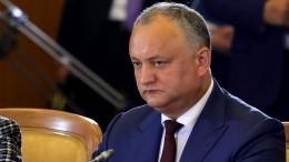 Президент Молдавии: Резолюция ООН поПриднестровью испортит отношения сРоссией