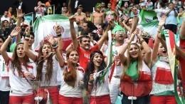 Иранская болельщица без хиджаба очаровала пользователей Twitter