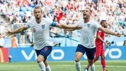 Англия громит Панаму после первого тайма