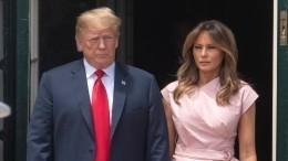 Трамп впервые разоткровенничался освоих отношений сженой