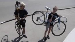 Первый велосветофор заработал вПетербурге