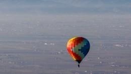ВСША воздушный шар налетел наЛЭП изагорелся— невероятныекадры