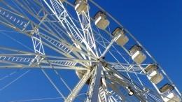 ВБашкирии посетители парка развлечений застряли нааттракционе вниз головой