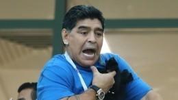 Медики поставили 57-летнему Диего Марадоне диагноз