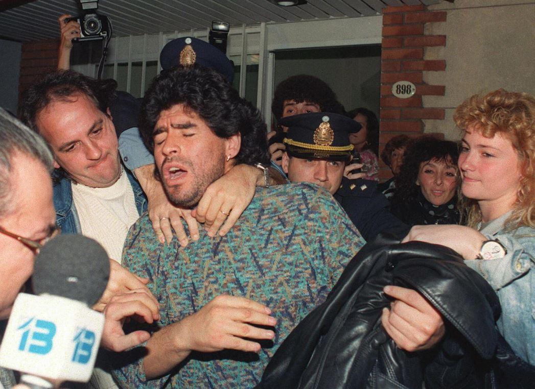 Марадона выходит из-под ареста