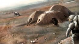 Как будет выглядеть жизнь людей наМарсе