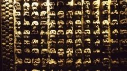 Выяснились жуткие подробности возникновения ацтекской «башни изчерепов»— видео