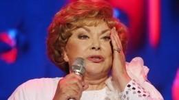 «Пойду просить милостыню»— Эдита Пьеха отменила концерт вПетербурге