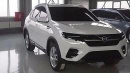Всети появилось фото макета нового кроссовера УАЗ