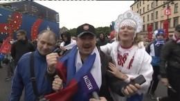 Вшторм тысячи человек собрались вфан-зоне Петербурга смотреть матч РФ-Испания