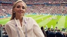 Победный крик Татьяны Навки оглушил оператора, когда Дзюба забил гол Испании