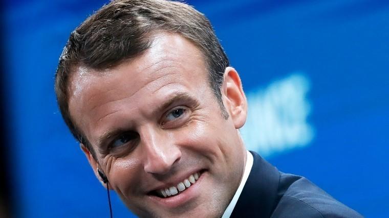 ВКремле неисключили, что Макрон приедет наматч Франция-Уругвай