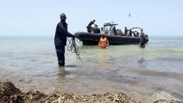 Более 60 мигрантов пропали без вести при крушении лодки уберегов Ливии
