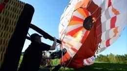 Воздушный шар слюдьми взорвался, залетев напровода вСША