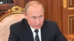 Путин обсудил сПолтавченко социально-экономическую-ситуацию вПетербурге