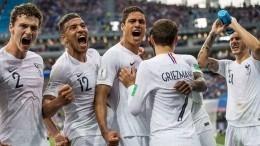 2:0— Франция стремительно идет внаправлении полуфинала