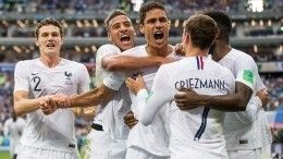 Суарес едет домой: Сборная Франции выходит вполуфинал ЧМ-2018