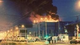 Пофакту пожара в«Зимней вишне» задержан начальник службы пожаротушения