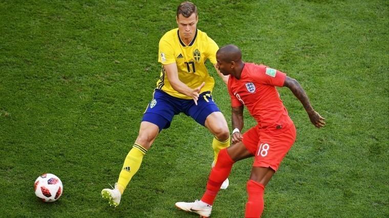 Матч Швеция— Англия врамках¼ финала ЧМ-2018 начался вСамаре
