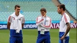 Сборная России отправилась настадион под восторженные крики болельщиков