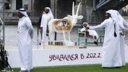 «Мажлис Катар»— вМоскве появился первый павильон ЧМ-2022