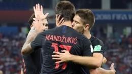 Два игрока сборной Хорватии прошли обследование после матча сРоссией наЧМ-2018