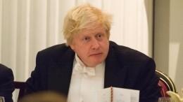 СМИ: глава МИД Британии Борис Джонсон подал вотставку