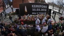 Следствие поделу опожаре вТЦ«Зимняя вишня» вКемерове завершается