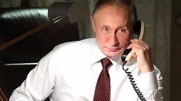 Владимир Путин поздравил Эммануэля Макрона спобедой сборной Франции