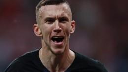 НападающийИван Перишич стал лучшим игроком матча Хорватия— Англия