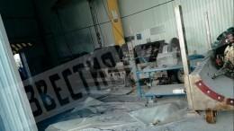 Появились первые кадры сместа взрыва наобъекте Сургутнефтегаза вХМАО