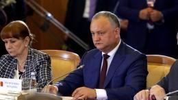Додон заявил ополитизированности деклараций «антироссийского характера»