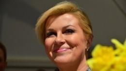 Видео: президент Хорватии душевно поблагодарила Россию заЧМ-2018 нарусском языке