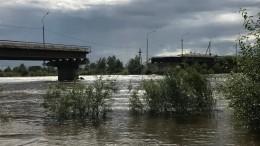 Обрушение моста вЧите попало навидео