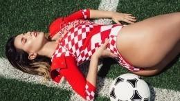 Пышногрудая хорватская модель пообещала раздеться для сборной— фото