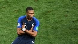 ФиналЧМ. Франция— Хорватия. Видео гола Килиана Мбаппе