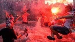 Аплодисменты инациональная гордость: Загреб гуляет вчесть сборной Хорватии