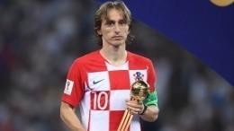 ВФИФА рассказали, почему лучшим игроком ЧМ-2018 признан «серебряный» Модрич