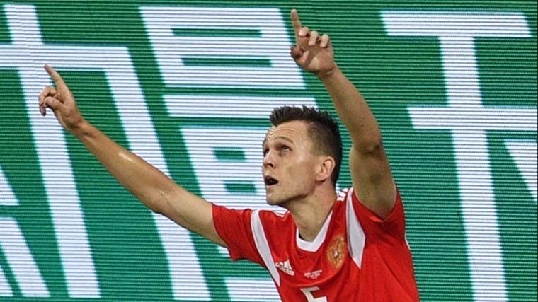 Игрок сборной РФДенис Черышев назван одним изглавных открытий ЧМ-2018