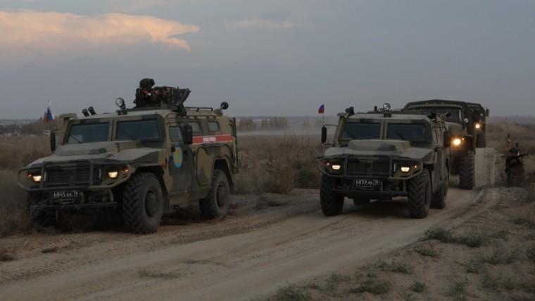 Россия вывела изСирии сотню военных полицейских