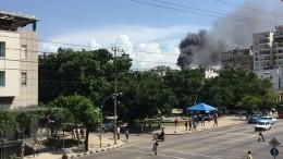 Сотни пациентов онкобольницы едва несгорели заживо впожаре вГаване— видео