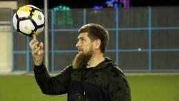 Кадыров хочет взять Слепакова соавтором новой футбольной песни