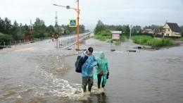 Путин призвалправительство оперативно восстановить мосты вЗабайкалье