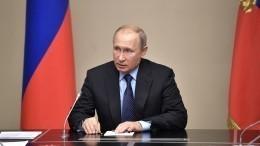 Путин надеется наскорейшее урегулирование ситуации наКорейском полуострове