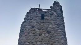 ВКалининградской области обрушилась «башня Бисмарка»
